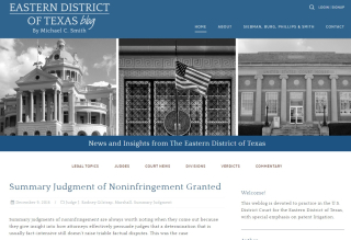 Eastern District of Texas Federal Court Practice