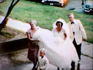 Mother - wedding - 1957