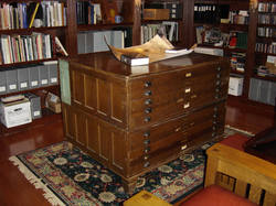 Puttering in the study blueprint cabinet blueprint cabinet blueprintcabinet malvernweather Image collections