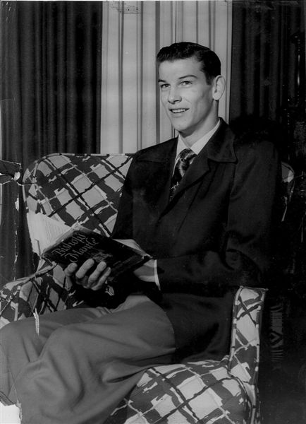 "Marshall High School ""Most Handsome"" Photo - 1951"