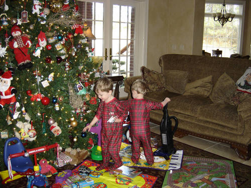 Christmas morning - 2004